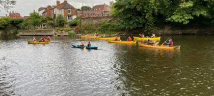 British Canoeing Paddle Start Award