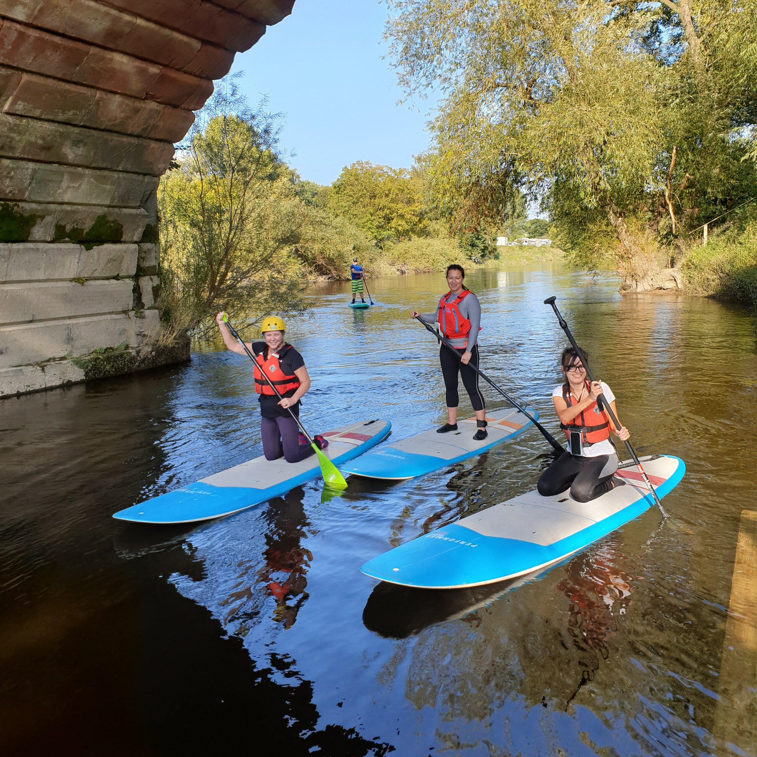 Hire a Canoe Shrewsbury SUP Hire Montford Bridge