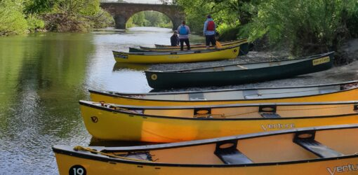 Montford Bridge to Shrewsbury River Severn Canoe Trip