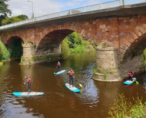 Montford Bridge Hire a SUP Shrewsbury River Severn Trip