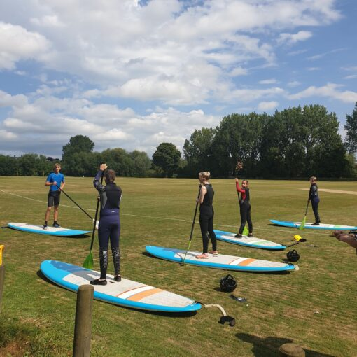 River Severn SUP Session Learn to Paddle Board in Frankwell Shrewsbury Shropshire