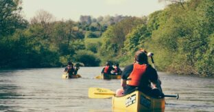 Hampton Loade to Bewdley River Severn Canoe Trip