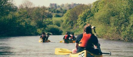 Hampton Loade to Bewdley River Severn Canoe Trip