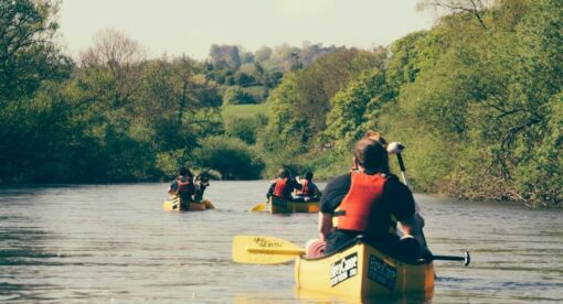River Severn Canoeing with Hire a Canoe Ironbridge Coalport Bridgnorth Hampton Loade Arley Bewdley