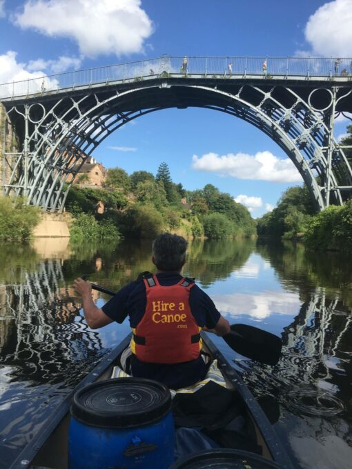 Hire a Canoe multi-day canoe trip Ironbridge