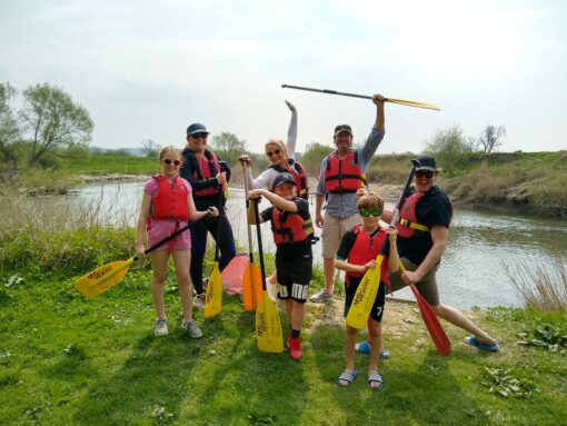 Hire a Canoe family canoe hire trip River Severn Shropshire Worcestershire