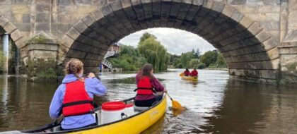 Shrewsbury Paddle About 2-Hour Canoe Hire