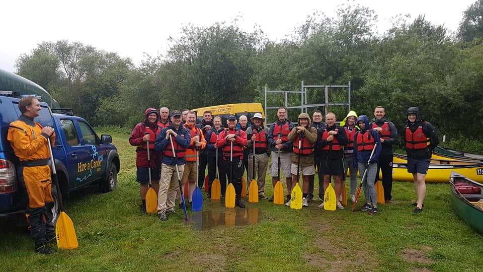 Hire a Canoe corporate booking